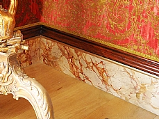 Faux Painted Marble