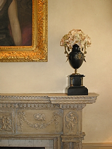 Antiqued Fireplace